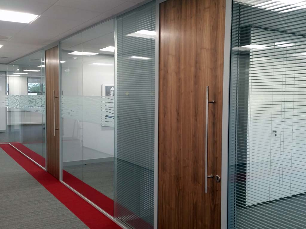 Office Doors. Along With Office Partitions ...