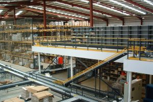 Largescale Fire Protected Mezzanine Installation