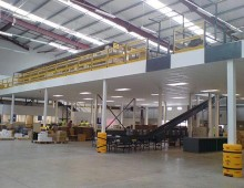 Fire Protected Large Mezzanine Floor
