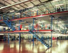 Multi Tiered Mezzanine Floor
