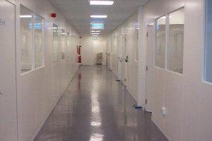 Cleanroom Steel Partition Corridor