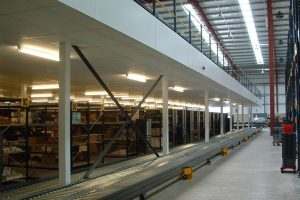 Fire Rated Production Mezzanine Floor