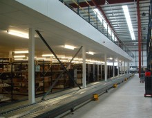Storage and distribution mezzanine floor Leeds