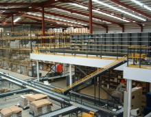 Turnkey Mezzanine and Conveyor Installation