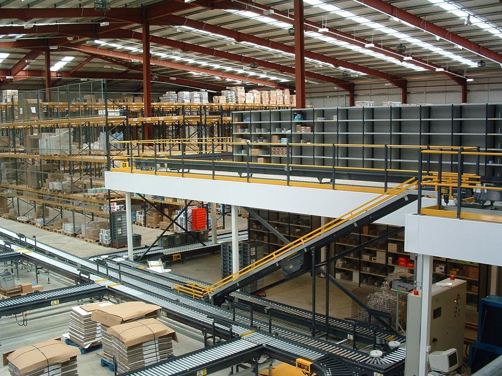 Turnkey Mezzanine and Conveyor Installation