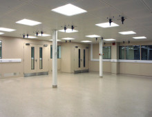Steel Cleanroom Partition Installation