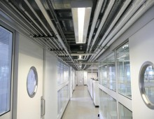 Cleanroom Partitioning Installation c/w Glazing