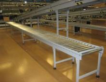 Free Standing Gravity Roller Conveyor