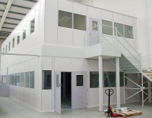 Two Tier Office Mezzanine Floor