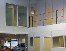 Car Show room office mezznaine floor