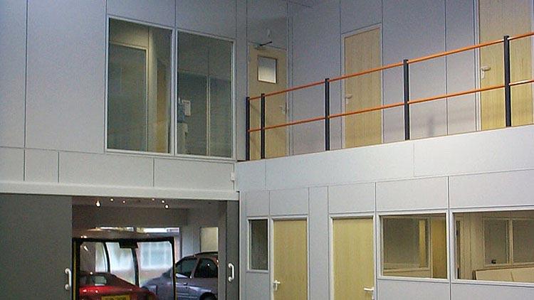 Mezzanine Floor Office