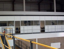 Office Mezzanine Floor in Distribution Centre