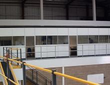 Office Mezzanine Floor in Distribution Centre