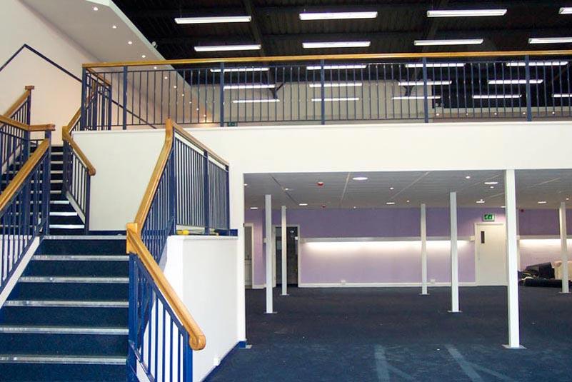 Lovely Retail Showroom Mezzanine Floor