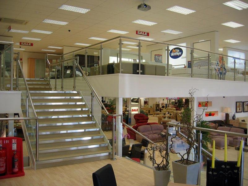office mezzanine. Retail Mezzanine Floor Huddersfield And Wakefield Office