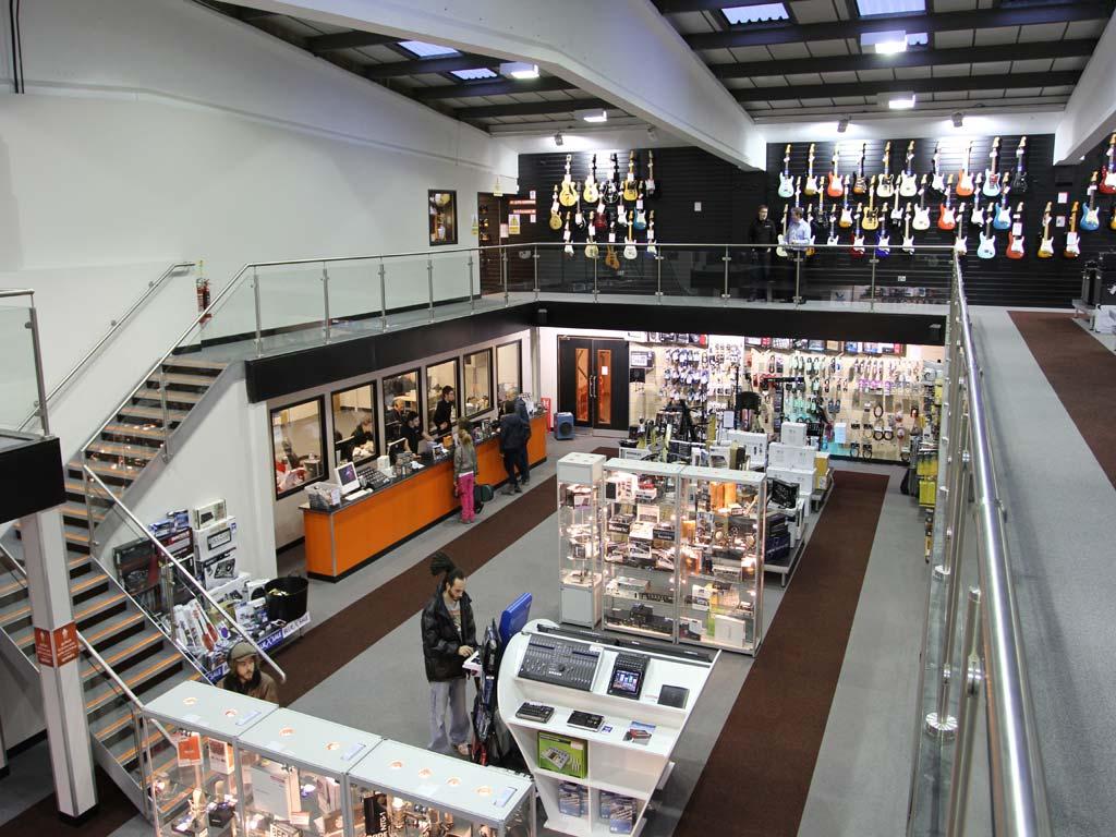 Retail Mezzanine Floor Leeds