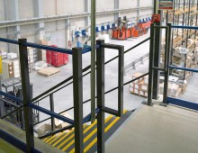 Mezzanine Floor Edge Protection