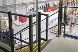 Mezzanine Floor Edge Protection