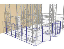 Mesh Partitions to Create Containment Area