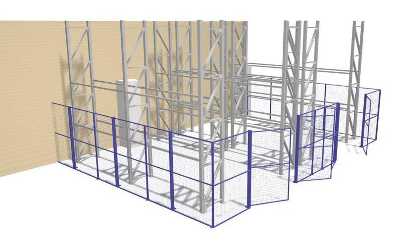 Wire mesh partitions pdf printer