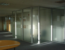600 Series Glazed Office Partitions