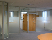 600 office partitions komfort