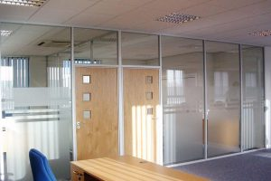 600 series office partitions Emproma