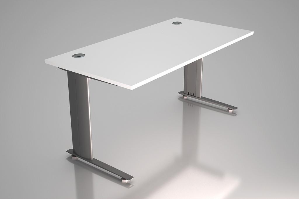 Cantilever Office Desk