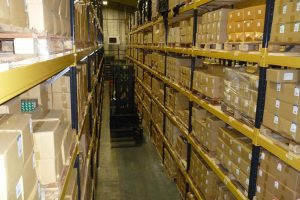 Pallet Racking Install for Automotive Sector