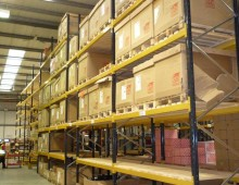 Pallet Racking c/w Timber Decks