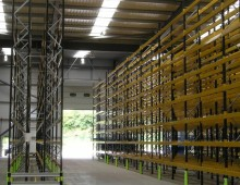 Pallet racking install in Halifax West Yorkshire