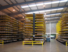 Cantilever Racking Aisles