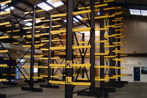 Cantilever Racking Prior to Loading