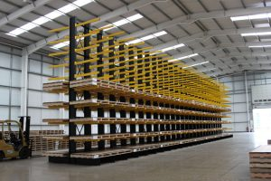 Large Cantilever Racking Installation