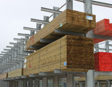 Galvanised Outdoor Cantilever Racking