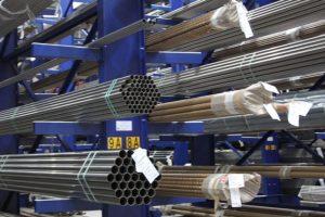 Tube Storage Cantilever Racking