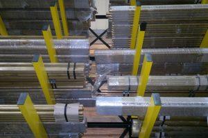Cantilever Racking Storing Steel Packs