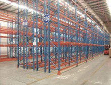 Double Deep Racking Installation in Warehouse