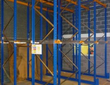 Block of Drive in Pallet Racking
