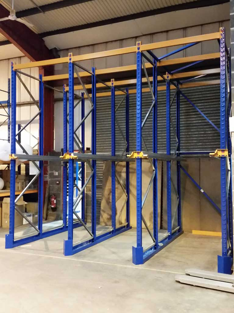 Block of Drive in Pallet Racking Installed in West Yorkshire
