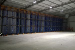 Large scale Drive in Pallet Racking