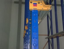 Drive in pallet racking upright