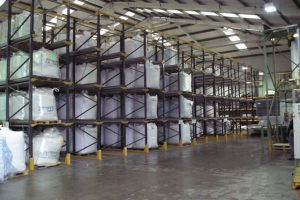 Drive in Racking Install in West Yorkshire