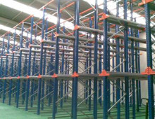 Drive in Racking Installation