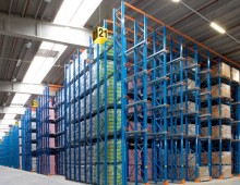 High Bay Drive in Pallet Racking