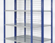 Expo 4 with Galvanised Mesh Panels