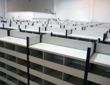 Euro Warehouse Shelving Installation