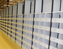 Warehouse Shelving For Shoe Storage
