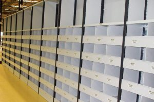 Warehouse Shelving For Shoe Storage