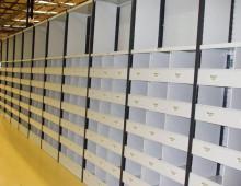 Euro Shelving For Clothing Retailer